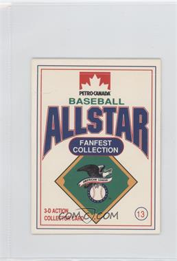 1991 Petro-Canada All Star FanFest Stand-Ups - [Base] #13 - George Brett