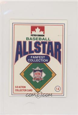 1991 Petro-Canada All Star FanFest Stand-Ups - [Base] #14 - Dale Murphy [EX to NM]