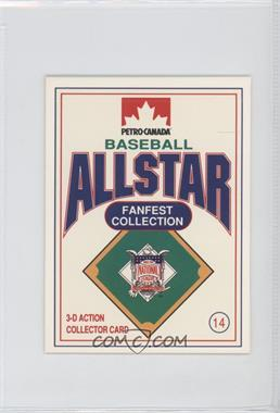 1991 Petro-Canada All Star FanFest Stand-Ups - [Base] #14 - Dale Murphy