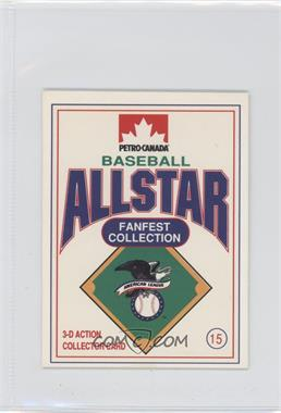 1991 Petro-Canada All Star FanFest Stand-Ups - [Base] #15 - Paul Molitor
