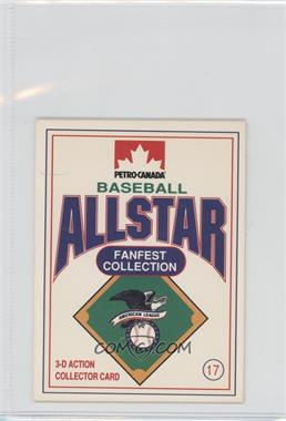 1991 Petro-Canada All Star FanFest Stand-Ups - [Base] #17 - Kirby Puckett