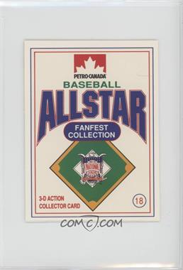 1991 Petro-Canada All Star FanFest Stand-Ups - [Base] #18 - Ozzie Smith