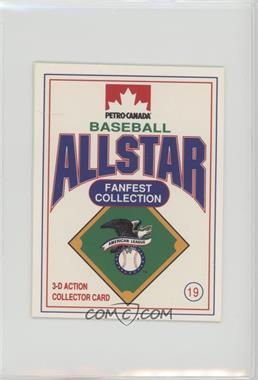 1991 Petro-Canada All Star FanFest Stand-Ups - [Base] #19 - Don Mattingly