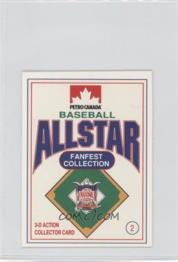 1991 Petro-Canada All Star FanFest Stand-Ups - [Base] #2 - Greg Olson