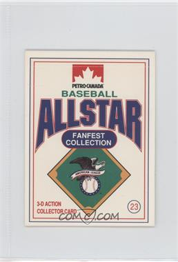 1991 Petro-Canada All Star FanFest Stand-Ups - [Base] #23 - Ken Griffey Jr.