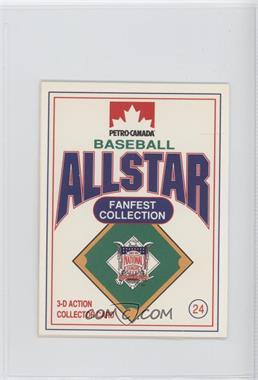 1991 Petro-Canada All Star FanFest Stand-Ups - [Base] #24 - Tony Gwynn