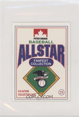 1991 Petro-Canada All Star FanFest Stand-Ups - [Base] #25 - Nolan Ryan