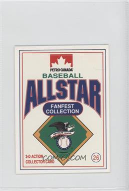1991 Petro-Canada All Star FanFest Stand-Ups - [Base] #26 - Kelly Gruber