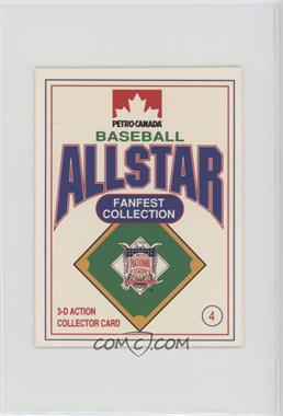 1991 Petro-Canada All Star FanFest Stand-Ups - [Base] #4 - Ryne Sandberg [Noted]
