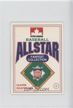 1991 Petro-Canada All Star FanFest Stand-Ups - [Base] #4 - Ryne Sandberg