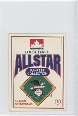 1991 Petro-Canada All Star FanFest Stand-Ups - [Base] #5 - Dave Winfield