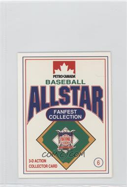 1991 Petro-Canada All Star FanFest Stand-Ups - [Base] #6 - Eric Davis