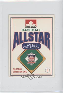 1991 Petro-Canada All Star FanFest Stand-Ups - [Base] #8 - Mike Scott