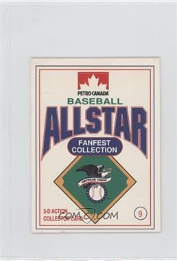 1991 Petro-Canada All Star FanFest Stand-Ups - [Base] #9 - Sandy Alomar Jr.