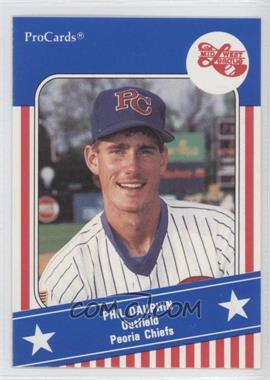 1991 ProCards Midwest League All Star Game - [Base] #MWL 7 - Phil Dauphin