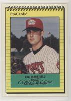 Carolina Mudcats Baseball Cards Matching Tim Wakefield