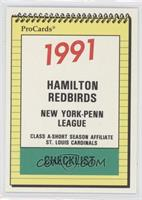 Hamilton Redbirds Team