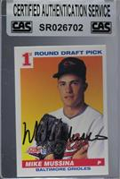 Mike Mussina [CAS Certified Sealed]