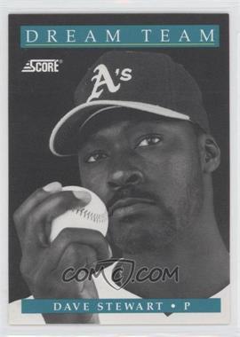 1991 Score - [Base] #883 - Dave Stewart