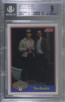Mickey Mantle (Billy Martin also pictured) [BGS 9 MINT] #/5,000