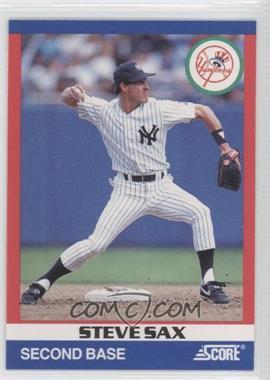 1991 Score 100 Hottest Players - Box Set [Base] #72 - Steve Sax