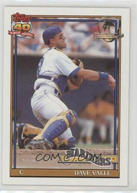 1991 Topps - [Base] - Operation Desert Shield #178 - Dave Valle