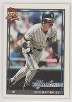 Don Mattingly (B* Before Copyright; Barely Visible Topps 40th Anniversary Logo;…