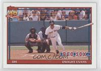 Dwight Evans (Diamond after 162 in 82; A* Before Copyright)