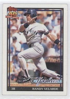 1991 Topps - [Base] #379 - Randy Velarde