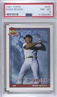 Wade Boggs (A* Before Copyright; Barely Visible Topps 40th Anniversary Logo) [P…
