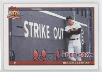 Roger Clemens (C* Before Copyright; Barely Visible 40th Anniversary Logo)