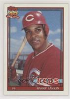 Barry Larkin (Registration Symbol Next to Reds is on bottom of box) [EX to…
