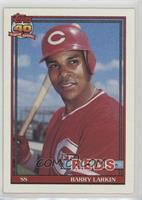 Barry Larkin (Registration Symbol Next to Reds is on bottom of box)