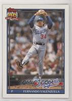 Fernando Valenzuela (Diamond after 104 in 90l; Barely Visible 40th Anniversary …