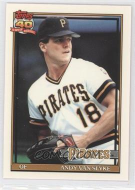 1991 Topps - Factory Set [Base] - Collector's Edition (Tiffany) #425 - Andy Van Slyke