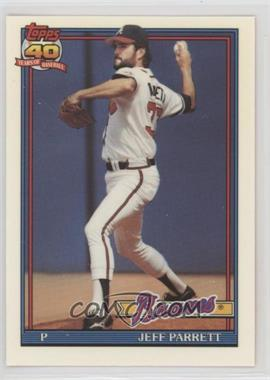 1991 Topps - Factory Set [Base] - Collector's Edition (Tiffany) #56 - Jeff Parrett