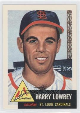 1991 Topps Archives The Ultimate 1953 Set - [Base] #16 - Harry 'Peanuts' Lowrey