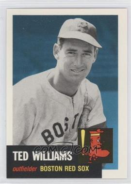 1991 Topps Archives The Ultimate 1953 Set - [Base] #319 - Ted Williams
