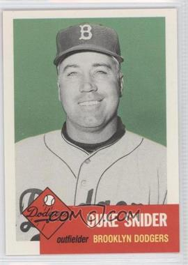 1991 Topps Archives The Ultimate 1953 Set - [Base] #327 - Duke Snider