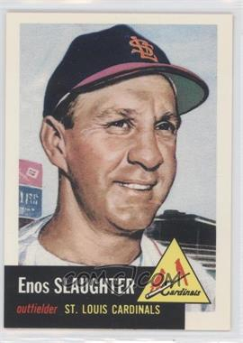 1991 Topps Archives The Ultimate 1953 Set - [Base] #41 - Enos Slaughter