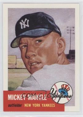 1991 Topps Archives The Ultimate 1953 Set - [Base] #82 - Mickey Mantle