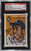Hank Aaron [SGC Authentic Authentic]