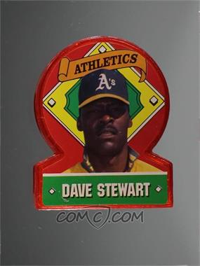 1991 Topps Superstar Standups Candy Collectibles - [Base] #32 - Dave Stewart