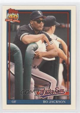 1991 Topps Traded - Box Set [Base] - Collector's Edition (Tiffany) #58T - Bo Jackson