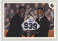 Stolen Base Leaders - Lou Brock, Rickey Henderson (May 1, 1991)