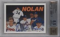 Nolan Ryan (Autograph) /2500 [BGS 8.5 NM‑MT+]