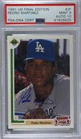 Pedro Martinez [PSA/DNA Certified Encased]