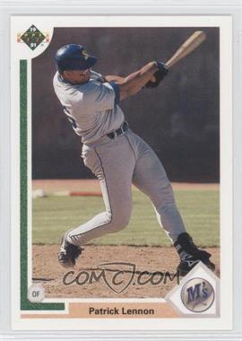 1991 Upper Deck Final Edition - Box Set [Base] #43F - Patrick Lennon
