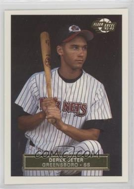 1992-93 Fleer Excel - [Base] #210 - Derek Jeter