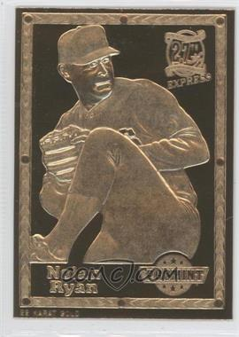 1992-93 ProMint 22K Gold - [Base] #3.1 - Nolan Ryan